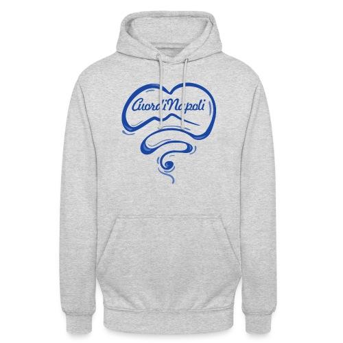 New Logo CuordiNapoli Blu - Felpa con cappuccio unisex