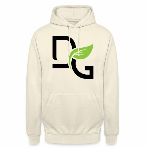 DrGreen Logo Symbol schwarz grün - Unisex Hoodie