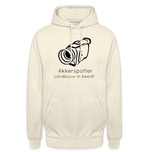 Logo akkerspotter - Hoodie unisex