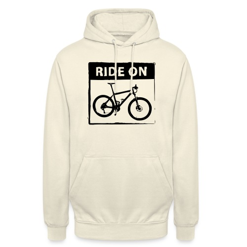 Ride On MTB 1 Color - Unisex Hoodie