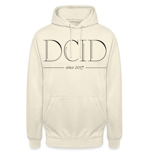 DCID-Hoodie - Luvtröja unisex
