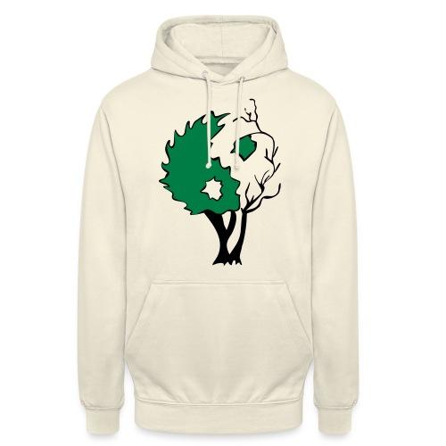 Yin Yang Arbre - Sweat-shirt à capuche unisexe