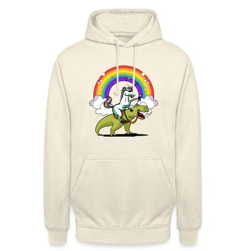 """Unicorn Riding Ninja - Huppari """"unisex"""""""