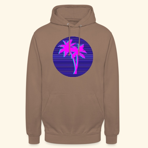Florida palmtree - Sweat-shirt à capuche unisexe