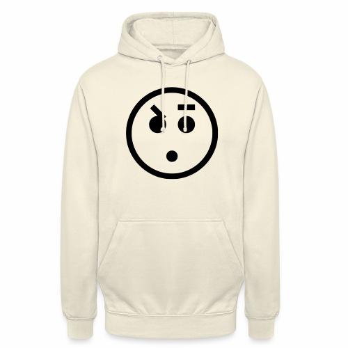 EMOJI 18 - Sweat-shirt à capuche unisexe