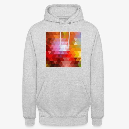 TRIFACE motif - Sweat-shirt à capuche unisexe