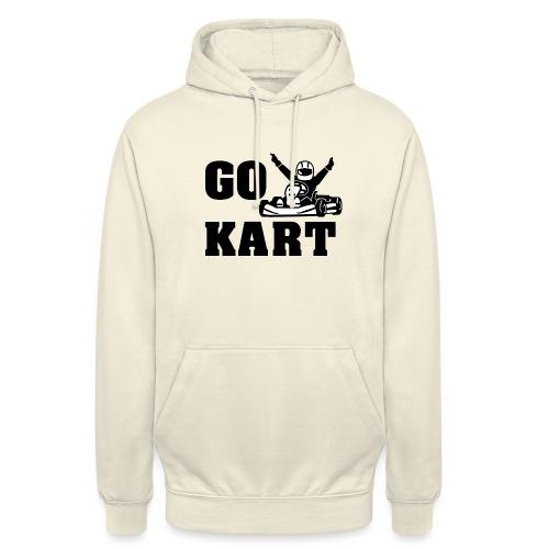 Go kart - Sweat-shirt à capuche unisexe