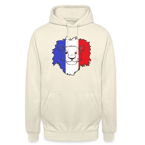 Lion France - Sweat-shirt à capuche unisexe