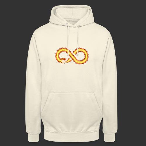 Infinity Snake - Sweat-shirt à capuche unisexe