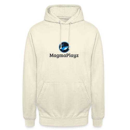 MagmaPlayz shark - Hættetrøje unisex