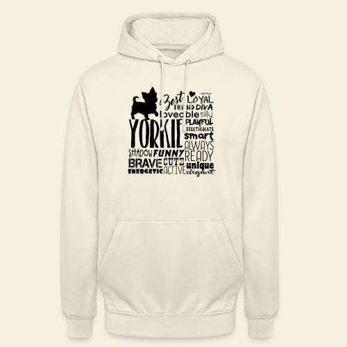 "Yorkshire Terrier Words B - Huppari ""unisex"""