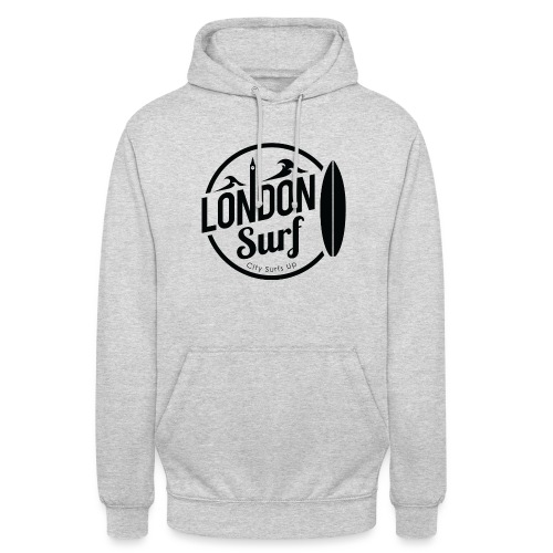 London Surf - Black - Unisex Hoodie