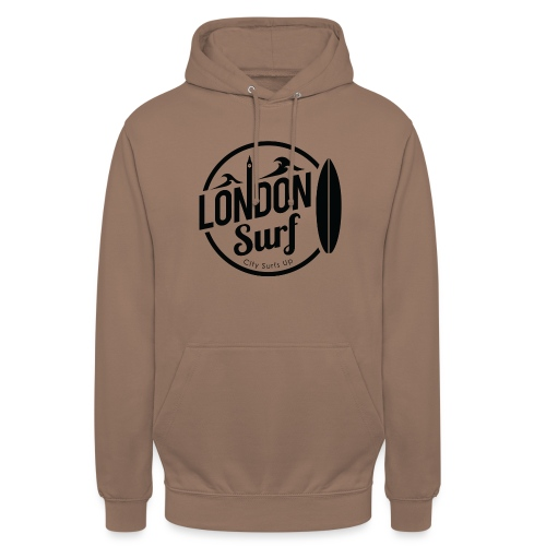 London Surf - Black - Unisex Hoodie