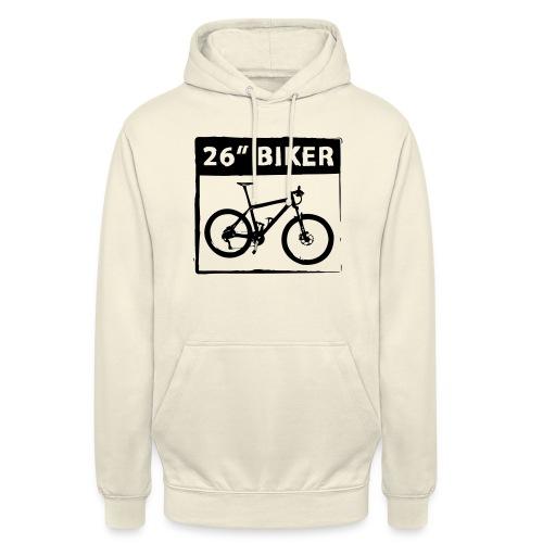 26 Biker - 1 Color - Unisex Hoodie