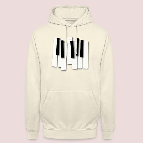 Klaviatur - Luvtröja unisex