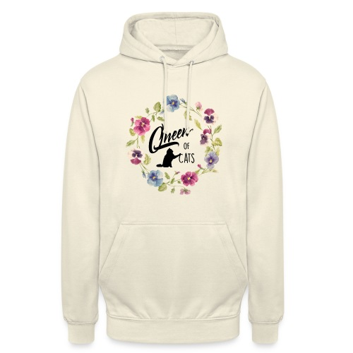 Vorschau: queen of cats - Unisex Hoodie