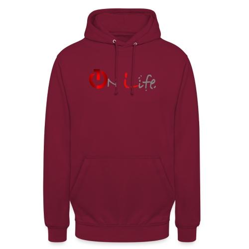 OnLife Logo - Sweat-shirt à capuche unisexe