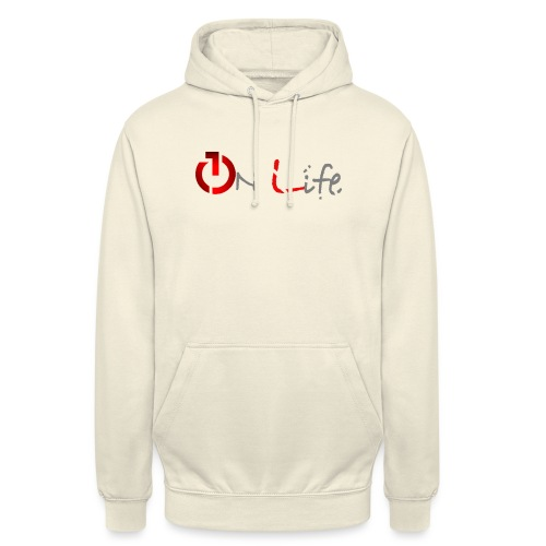 OnLife Logo - Sweat-shirt à capuche unisexe