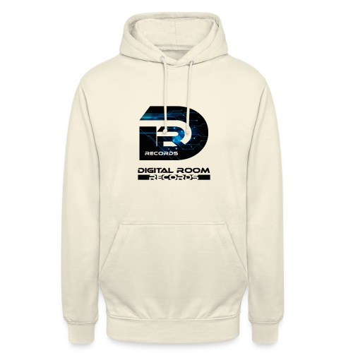 Digital Room Records Official Logo effect - Unisex Hoodie