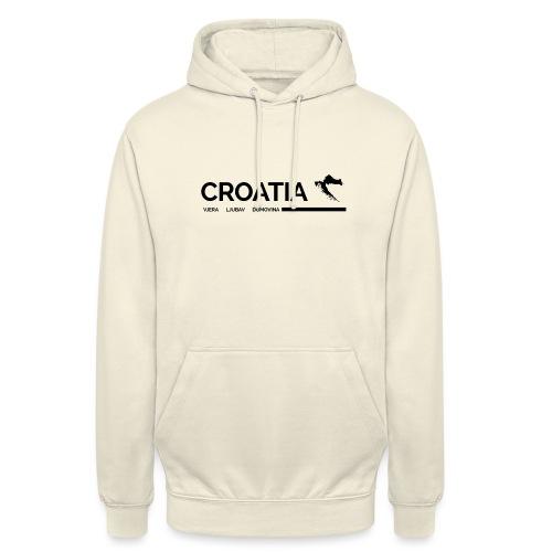 CROATIA | LJUBAV VJERA DOMOVINA - Unisex Hoodie