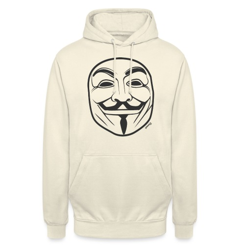 *NEW* Anonymous (H) - Sweat-shirt à capuche unisexe