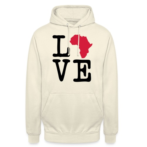 I Love Africa, I Heart Africa - Unisex Hoodie