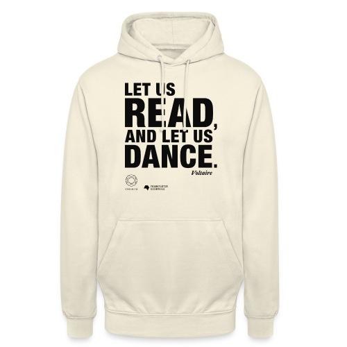 LET US READ | Bookish Merch - Unisex Hoodie