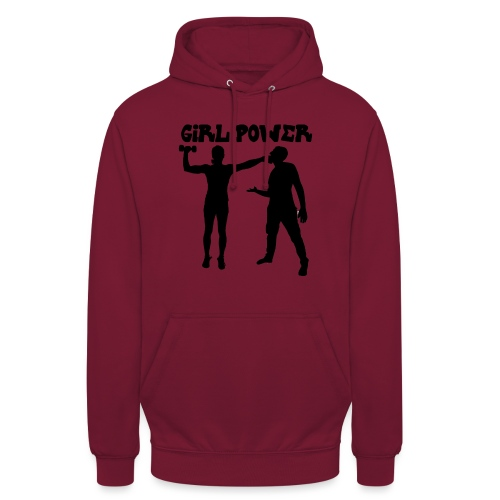 GIRL POWER hits - Sudadera con capucha unisex