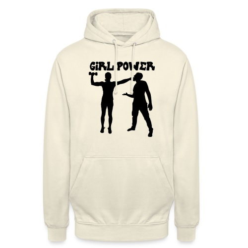 GIRL POWER hits - Sudadera con capucha unisex
