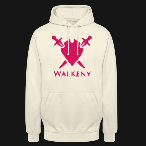 Das Walkeny Logo mit dem Schwert in PINK! - Unisex Hoodie