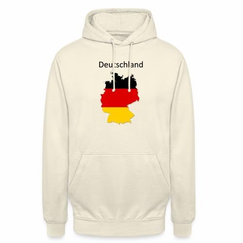 Deutschland Karte - Unisex Hoodie