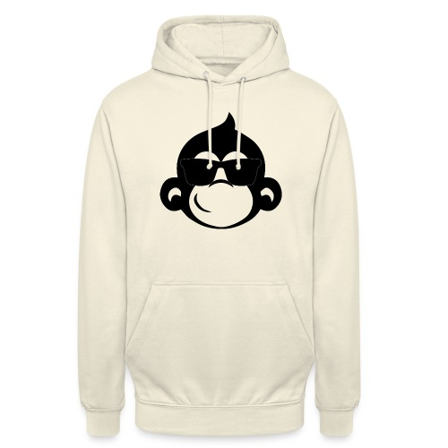 Singe cool - Sweat-shirt à capuche unisexe