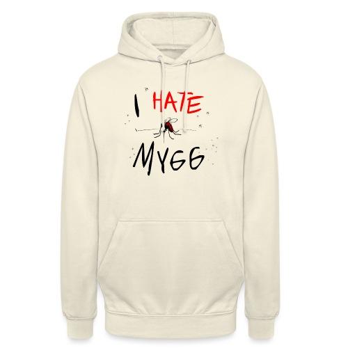 I hate mygg - Luvtröja unisex