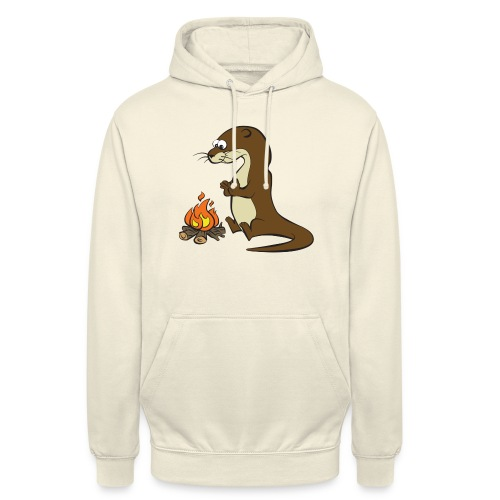 Song of the Paddle; Quentin campfire - Unisex Hoodie