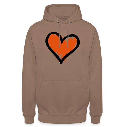 Heart Symbol Pixellamb - Unisex Hoodie