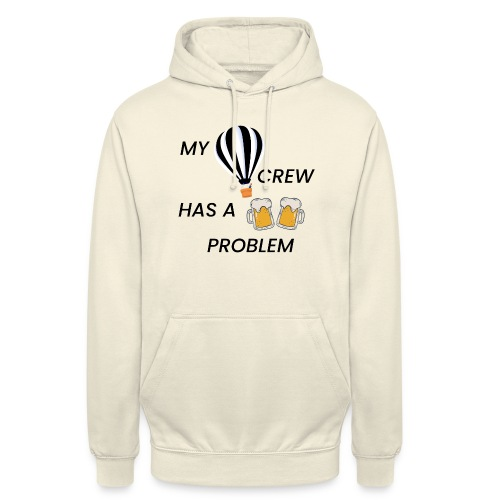 My Ballooning crew has a drinking problem - Unisex Hoodie