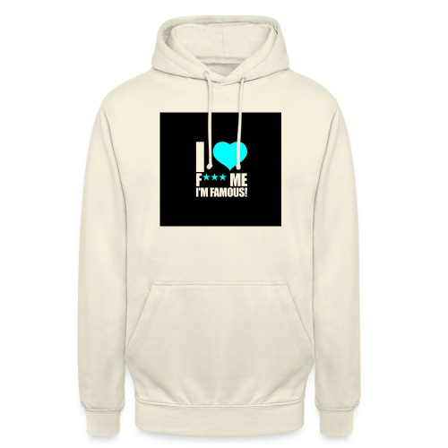 I Love FMIF Badge - Sweat-shirt à capuche unisexe