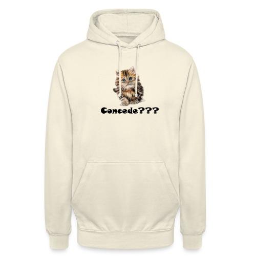 Concede kitty - Unisex-hettegenser