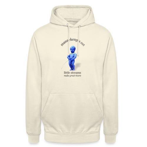 EUROPE ♀♂   mannekenpis マヌカンピス - Sweat-shirt à capuche unisexe