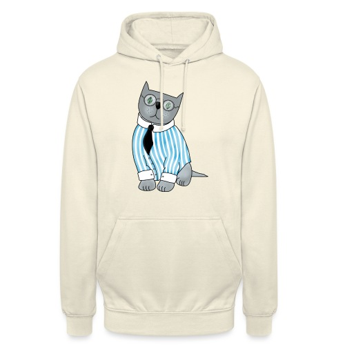 Cat with glasses - Unisex Hoodie