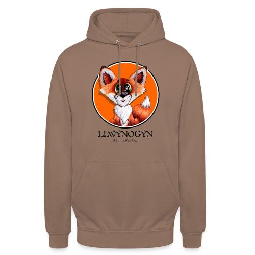 """llwynogyn - a little red fox (black) - Huppari """"unisex"""""""