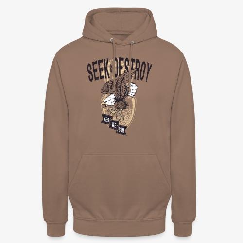 Seek Destroy - Shirts - Sweat-shirt à capuche unisexe