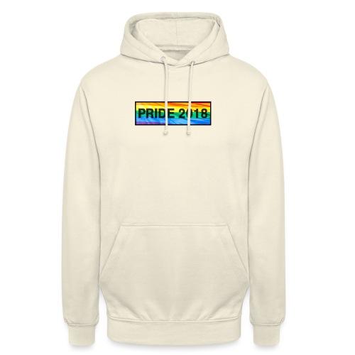 Pride 2018 long design - Unisex Hoodie