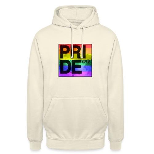 Pride 2018 Rainbow Block - Unisex Hoodie