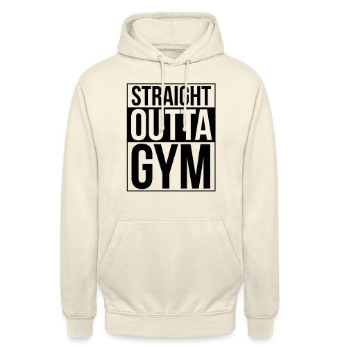 Straight Outta Gym Design. - Unisex Hoodie
