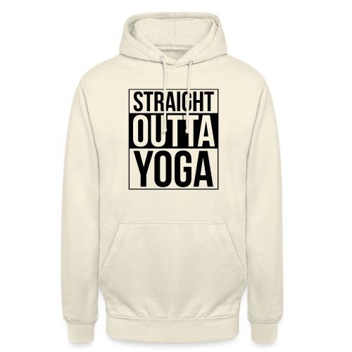 Straight Outta Yoga Design - Unisex Hoodie