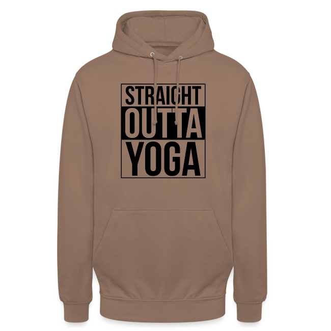 Straight Outta Yoga Design