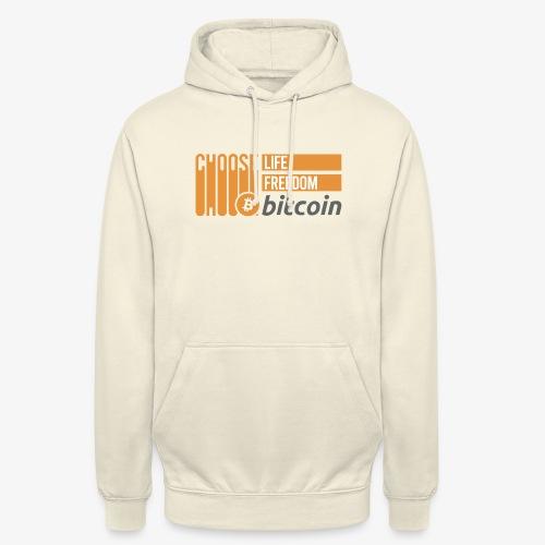 Bitcoin - Sweat-shirt à capuche unisexe