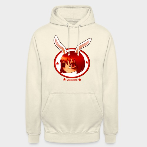 Geneworld - Bunny girl pirate - Sweat-shirt à capuche unisexe