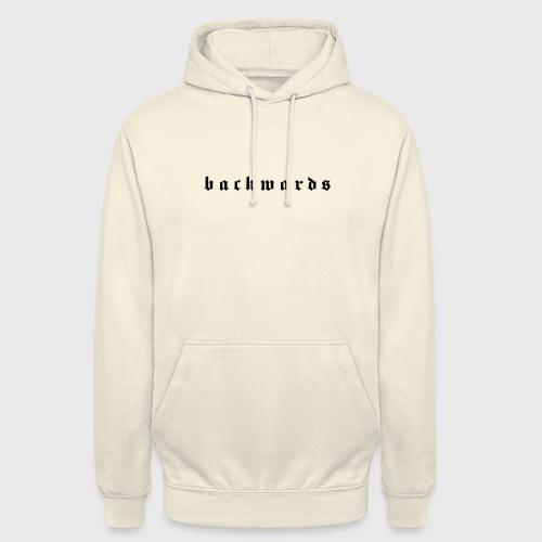 Backwards - Hoodie unisex